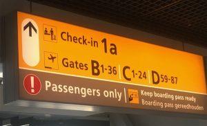 Schiphol Airport incheckbalie1A KLM