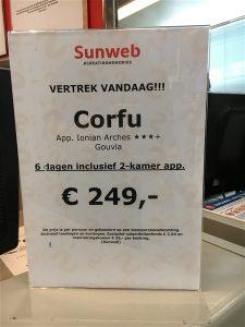 Schiphol Airport lastminute aanbieidingen