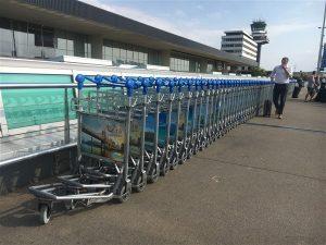 Schiphol airport travel light bagage veruitsturen
