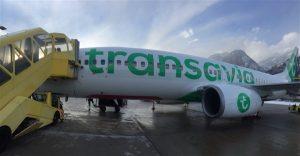 postnl check in bagage transavia