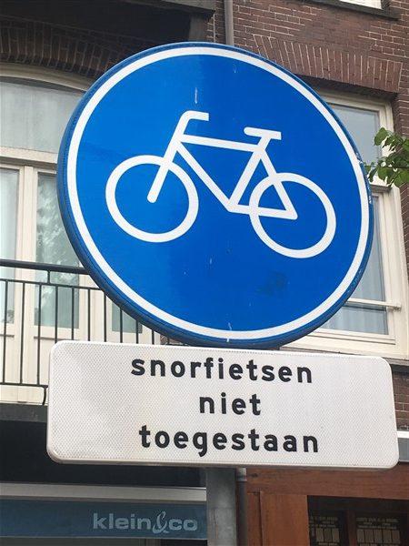 Fietspaden in Amsterdam