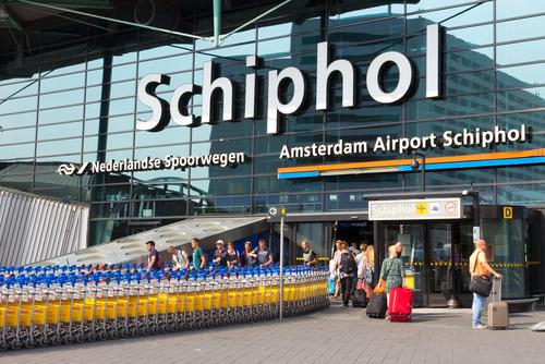 Drukte op Schiphol